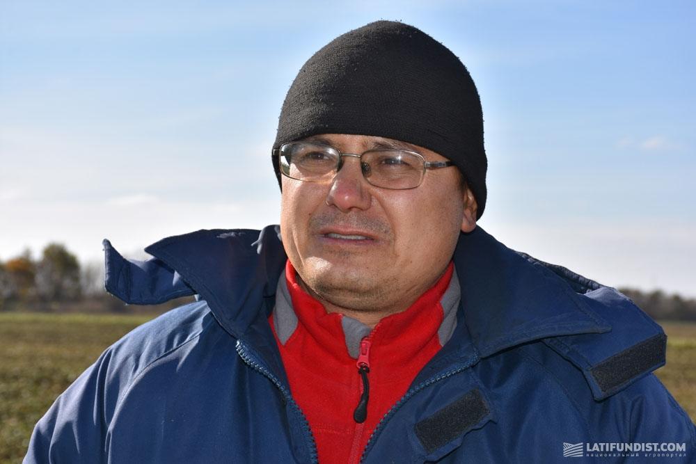 Владимир Еламов, агроном территориального отделения Грейгово компании «АТФ «Агро-Дело»